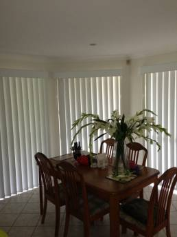 Interior Window Vertical Blinds
