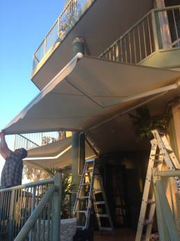 Open Style Folding Arm Awnings