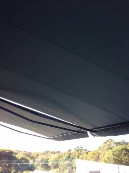 Acrylic Fabric Folding Arm Awnings