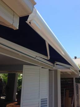 Semi Cassette Folding Arm Awnings System